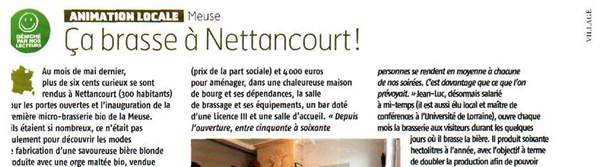 La brasserie dans la presse (4)