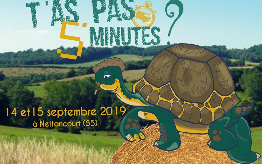 Festival T'as pas 5 Minutes – 14 et 15 septembre 2019